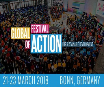 Our voice in the Global Festival of Action for Sustainable Development